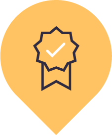 Presentational gain credential icon